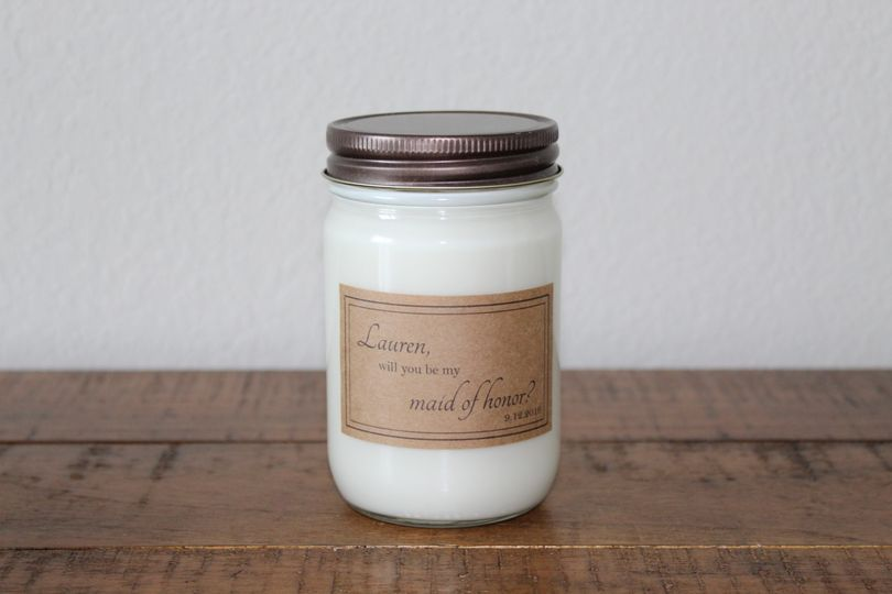 12-Ounce Bridesmaid Candle