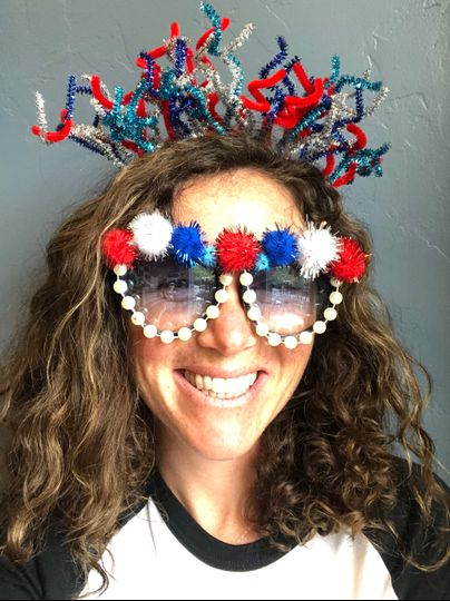 DIY: colorful sunglasses