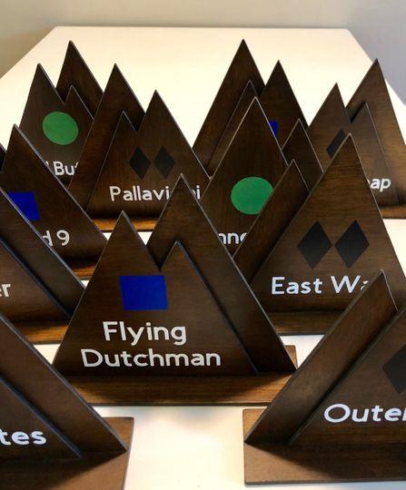 Mountain Centerpieces
