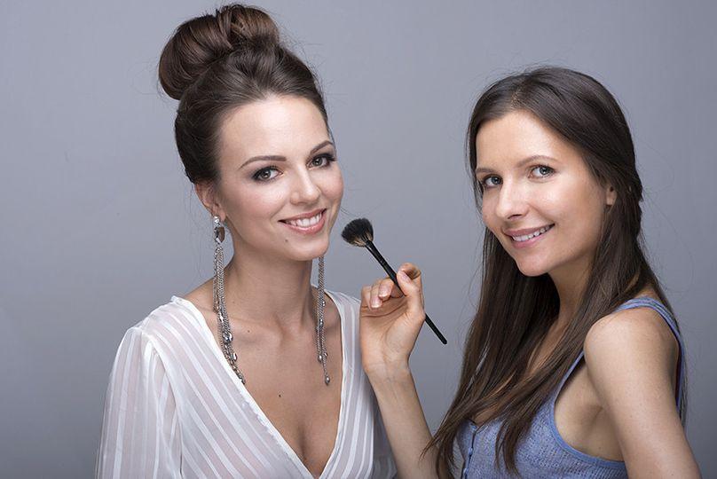evelina young and agne skaringa beauty affair make