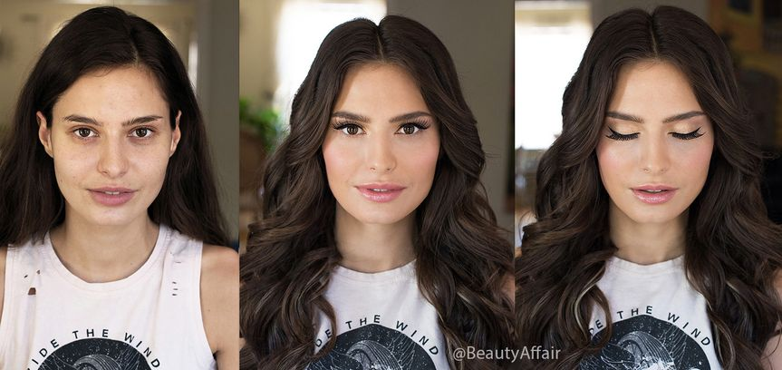 800x800 1488673735025 airbrush before and after temptu makeup and waves