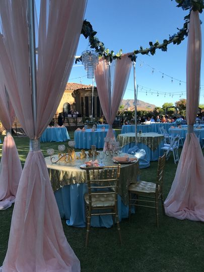 Bridal table option
