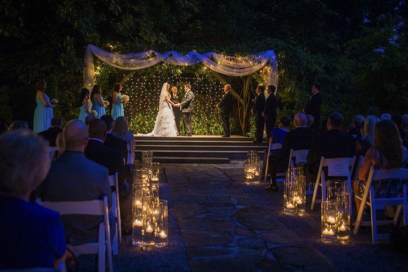 Night ceremony at Arbor