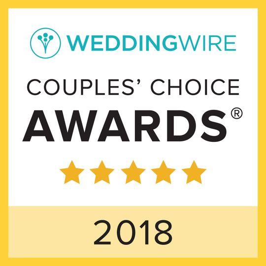 2018 Couple's Choice winner