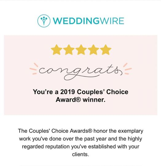 2019 Couple's Choice winner