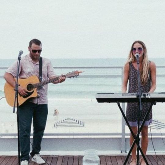 Beachside performance