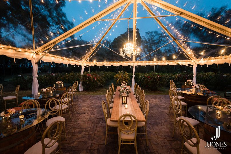 Cleartop Tent at Cityscape Winery