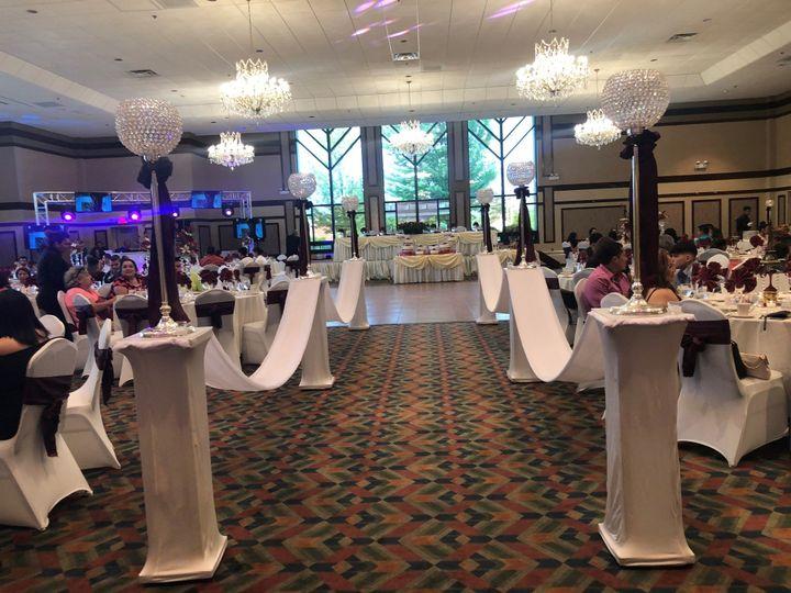 Tmx Ballroom W Pedestals 51 85317 157816870872642 Aurora, IL wedding venue