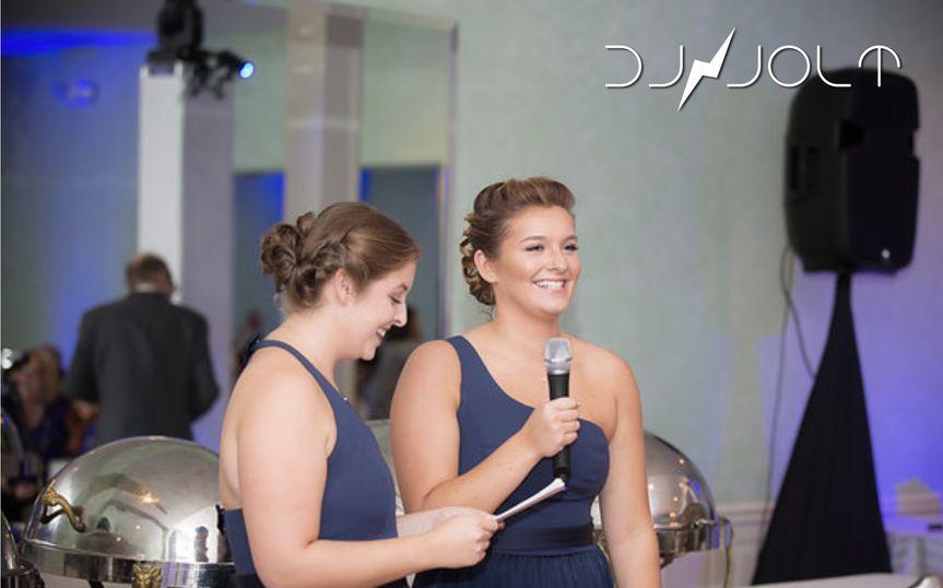 Bridesmaid's speech