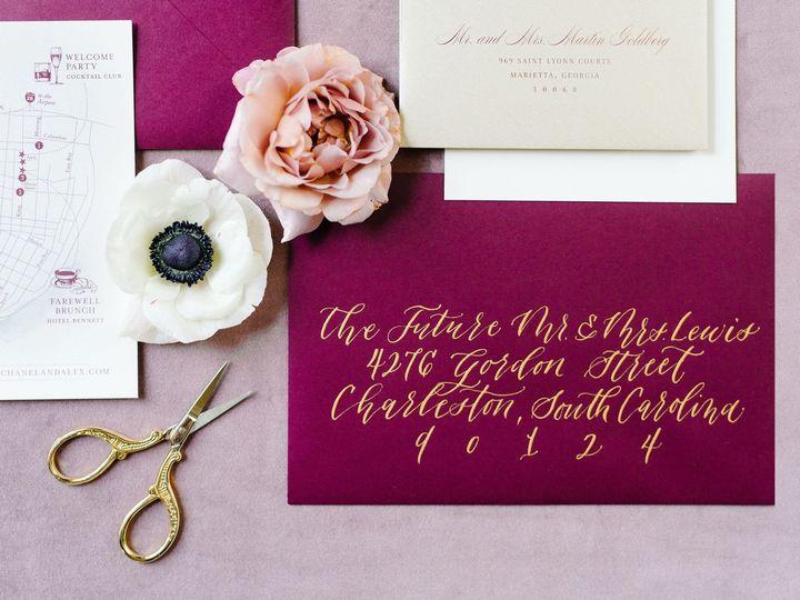 Tmx Chanelalex Williamaikenhouseweddingbyaaronandjillianphotography 13 51 1218317 158427847623166 Charleston, SC wedding invitation