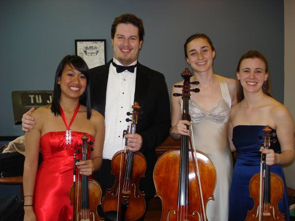Performing a concert in Philadelphia featuring works by Beethoven and Barber.