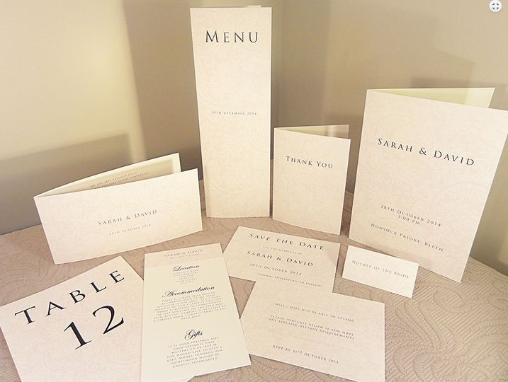 Classic Wedding Invitations Collection In UK- Grace