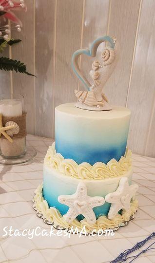 Mini Sea Scape Cake