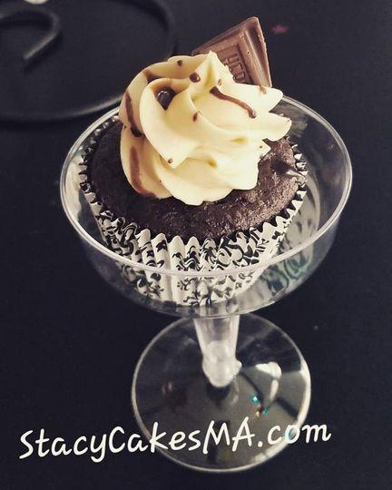 Mudslide Cupcake