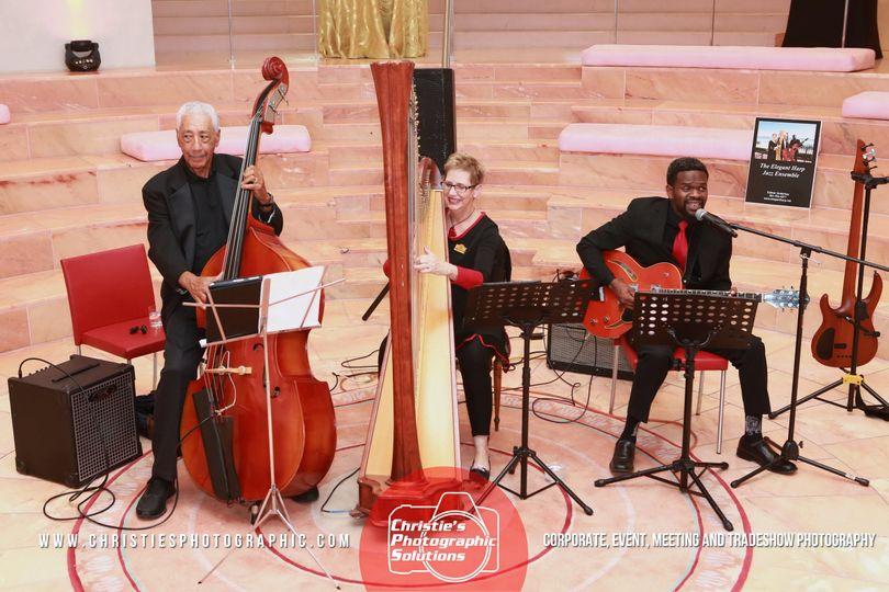 Jazz trio at Faena