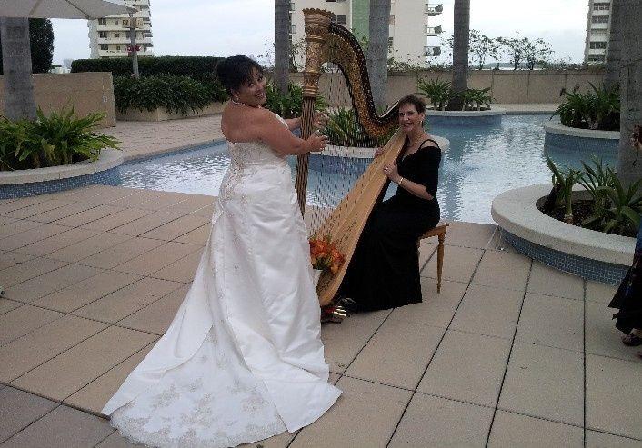 Tmx 1370654149187 Esther Underhay The Elegant Harp Four Seasons Miami Lake Worth wedding ceremonymusic