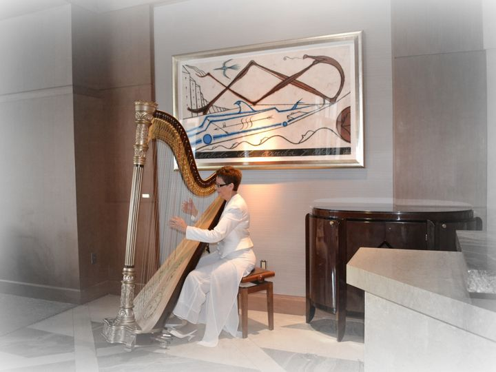 Tmx 1381721379045 Esther Underhay The Elegant Harp Four Seasons Miami  Lake Worth wedding ceremonymusic