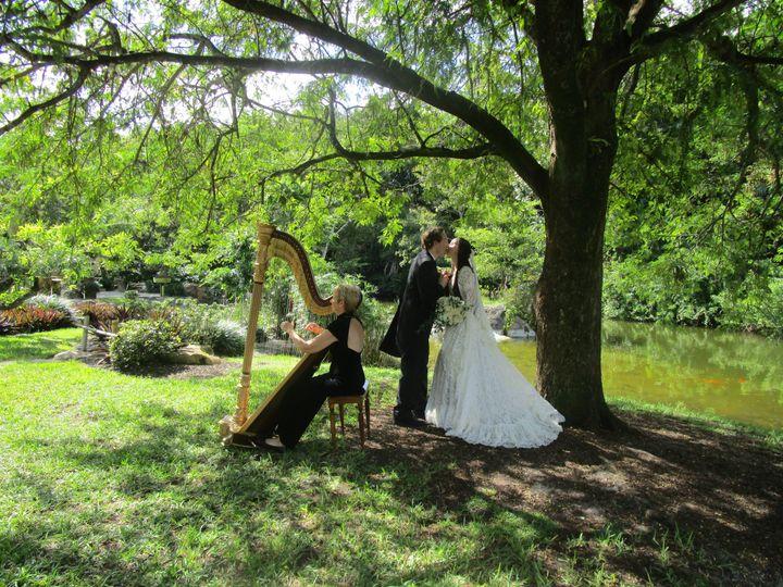 Tmx 1452983182549 The Elegant Harp Morikami Lake Worth wedding ceremonymusic