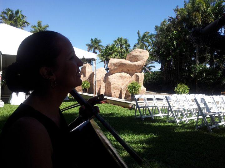 Tmx 1452984596567 The Elegant Harp Norton Sculpture Gardens Tawny Lake Worth wedding ceremonymusic