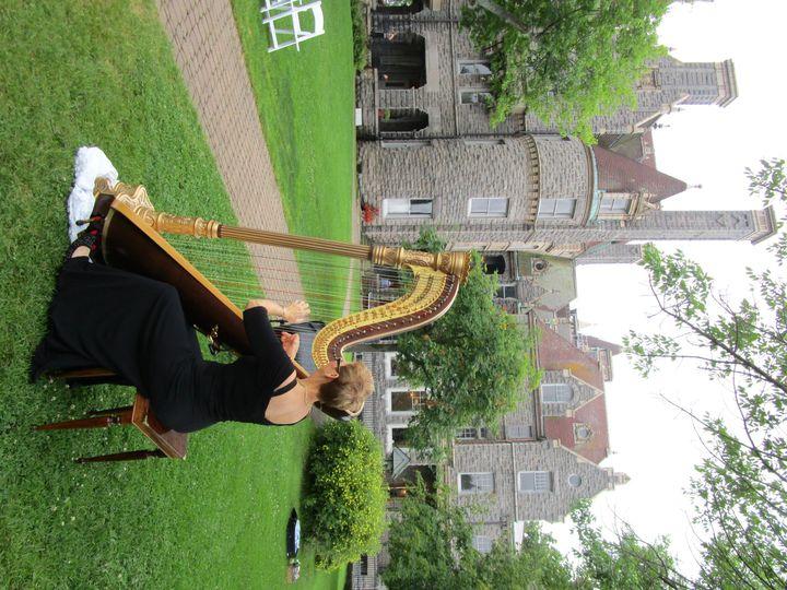 Tmx 1452990270856 The Elegant Harp Boldt Castle Lake Worth wedding ceremonymusic