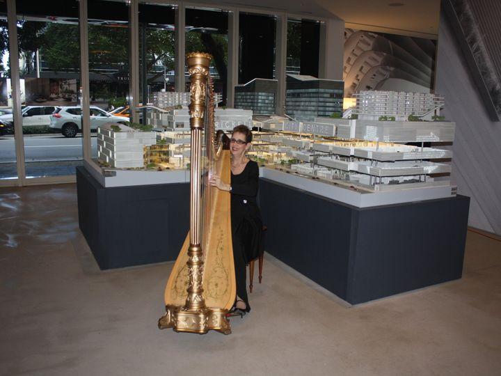 Tmx 1452990749348 The Elegant Harp Brickell City Centre Lake Worth wedding ceremonymusic