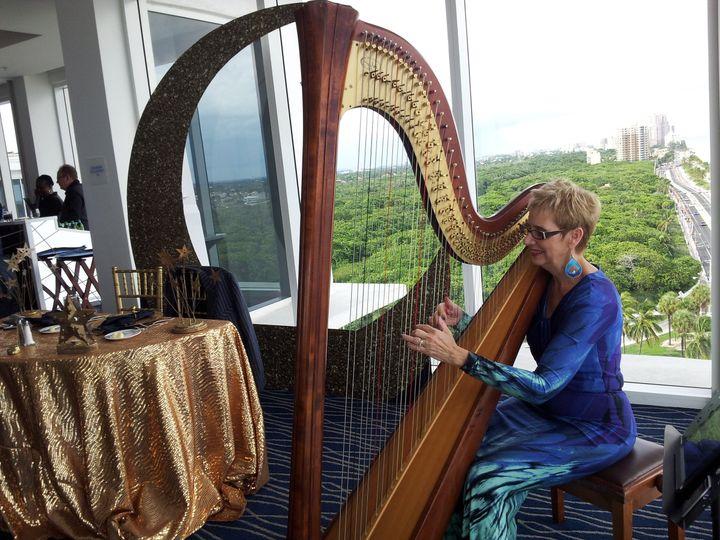 Tmx 1452992420662 The Elegant Harp Baby Shower 2 Lake Worth wedding ceremonymusic