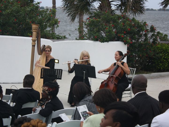 Tmx 1452995405719 The Elegant Harp Trio Tuckahoe Lake Worth wedding ceremonymusic