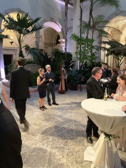 Vizcaya wedding reception