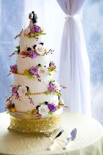 Fluffy Thoughts Cakes Wedding Cake Mc Lean VA WeddingWire