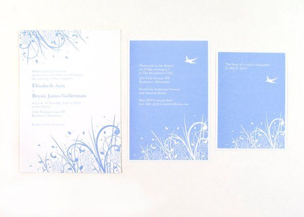 Peonies Invitation Suite