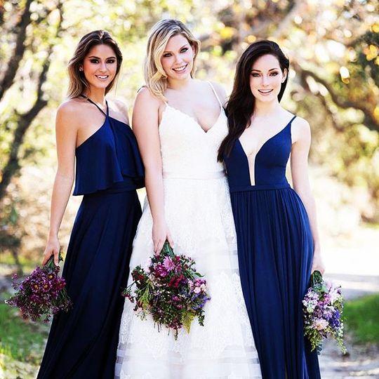 Allure bride and maids