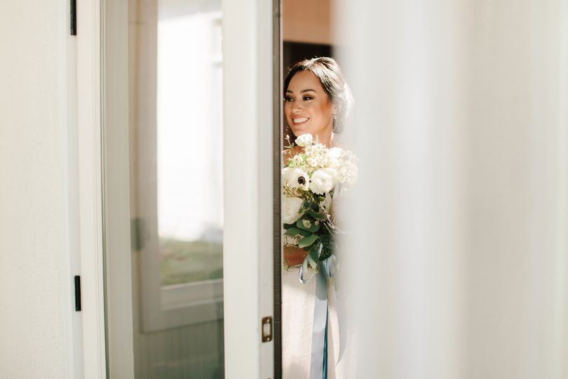 Bride at the ready