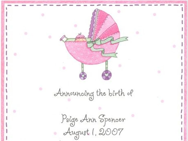 Tmx 1228405141731 Pinkbuggy Holly Springs wedding invitation