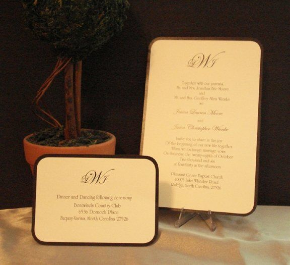 Tmx 1228405428934 Invitation00211 Holly Springs wedding invitation