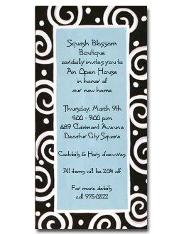 Tmx 1228405971809 Blueswirls Holly Springs wedding invitation