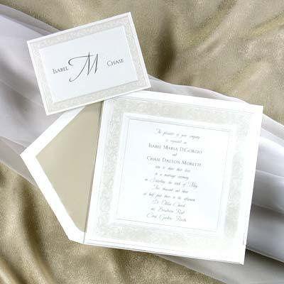 Tmx 1233768372875 Whitesquare6 Holly Springs wedding invitation