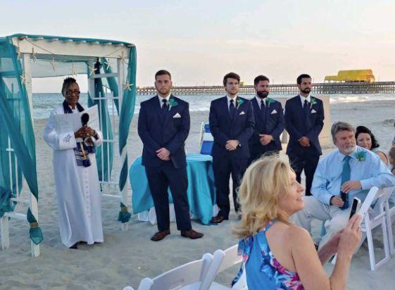 Destination wedding coordination