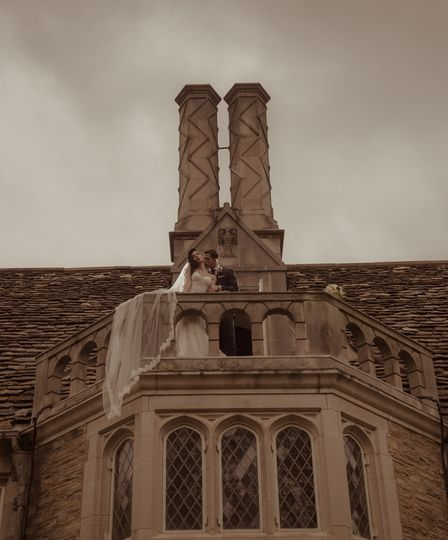 Terrace @ the castle . . .