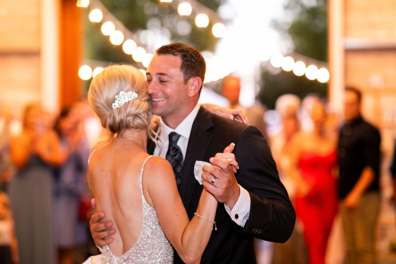 First Dance in Winery