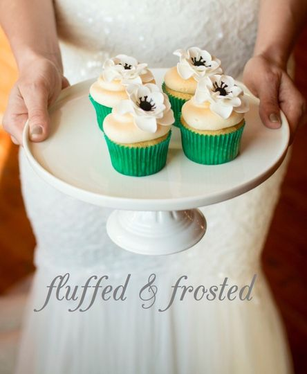 fluffed frosted poster