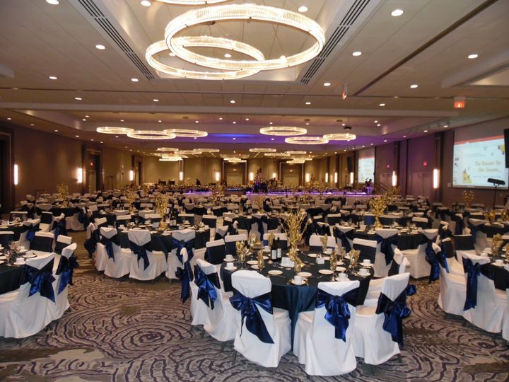 Ballroom with Chair Covers