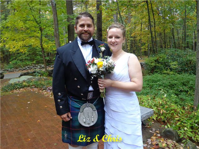 Tmx 1422483038334 F10.04.2014 Lizchris Hampton Falls wedding officiant