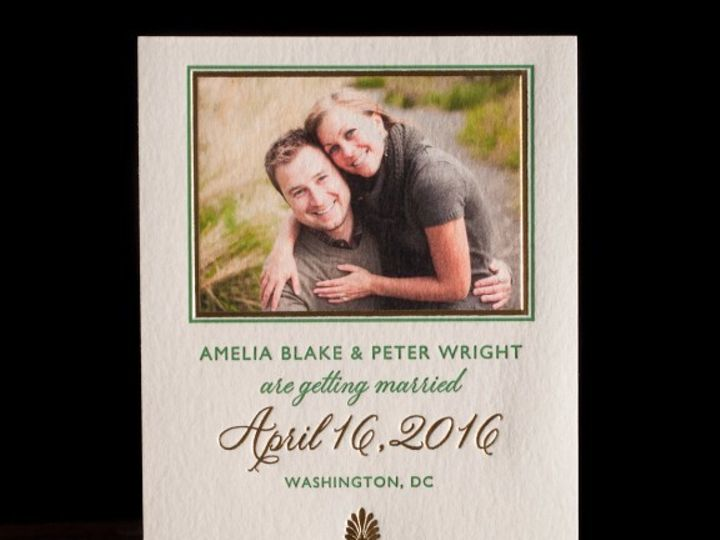 Tmx 1436739948107 Emory Photo Save The Date Seattle wedding invitation