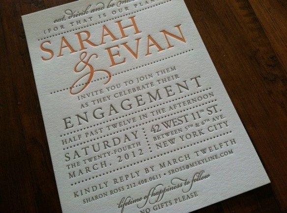 Tmx 1436741490518 Sarah And Evan Engagement Invite Seattle wedding invitation