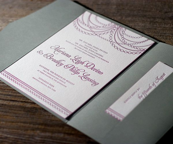 Tmx 1436743003828 Mariana Vintage Letterpress Sample 1 Seattle wedding invitation