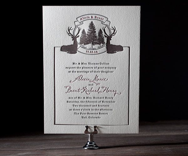 Tmx 1436743008664 Rustic Lookout Letterpress Sample 1 Seattle wedding invitation