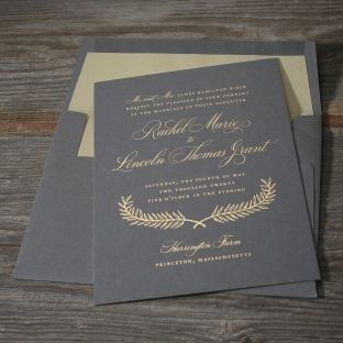 Tmx 1485633558842 Estate With Lined Envelope Seattle wedding invitation