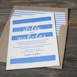 Tmx 1485633794578 Reef With Lined Envelope Seattle wedding invitation