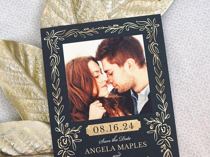 Tmx Angela David Save The Date 51 406417 162175176357412 Seattle, WA wedding invitation