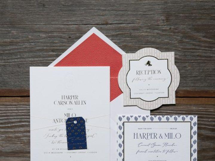 Tmx Aurelia Embossed Wedding Invitation Suite 51 406417 162154711292918 Seattle, WA wedding invitation